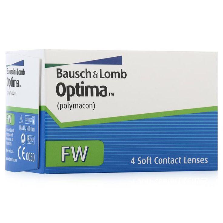Контактные линзы Bausch+Lomb Optima FW, 4 шт, R: 8.7, D: -5.25