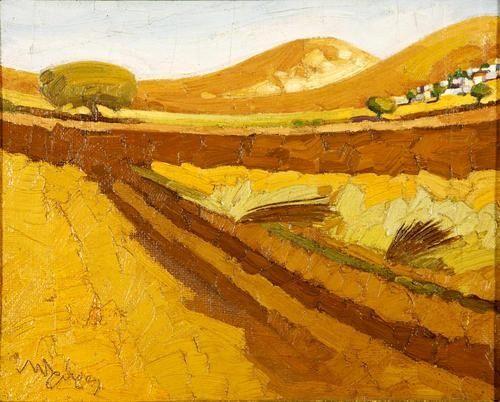 Nikolaos Lytras, Ploughed field – Tinos