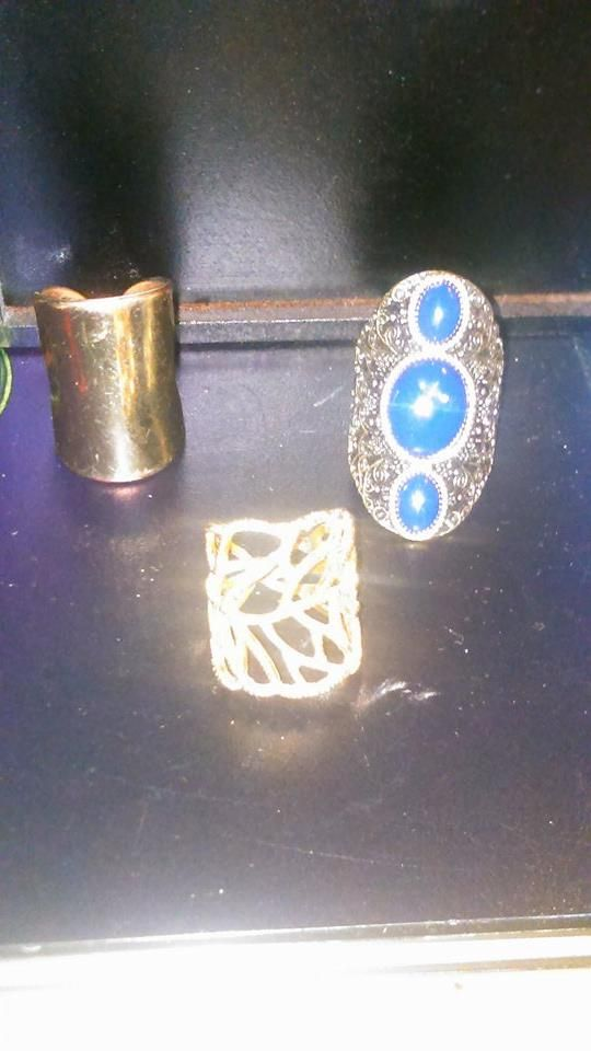 Womens Fashion Rings Combo #3