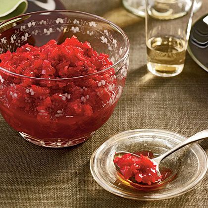 This sweet-tart cranberry-orange relish is a simple and delicious addition to holiday menus.