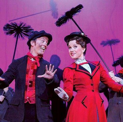 Mary Poppins (Brisbane, 28 January 2012). Starring Verity Hunt-Ballard, Matt Lee, Simon Burke, Pippa Grandison.