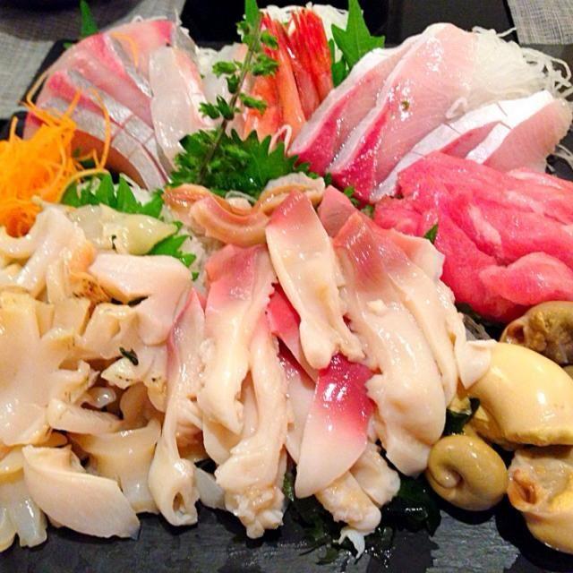 トリ貝と一緒に北海道から送られてきたのでお刺身でいただきました! - 17件のもぐもぐ - つぶ貝祭り☆ by HANAE