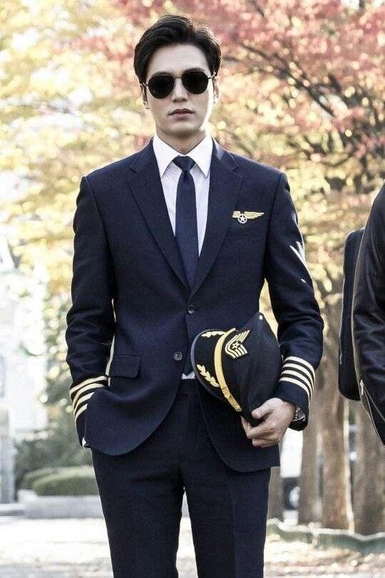 """Lee min ho en su personaje para la serie """"the legend of the Blue sea"""""""