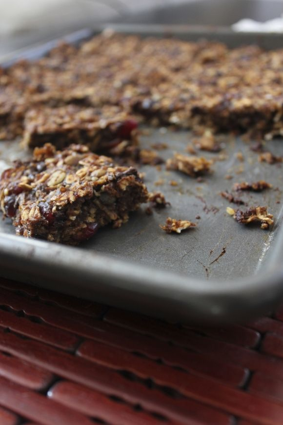 Kamut dark chocolate energy bar. Make it, but the ingredients don't need to be gluten free for me!