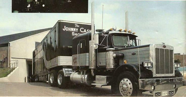 Johnny Cash 359 Peterbilt 359 Pinterest Johnny Cash
