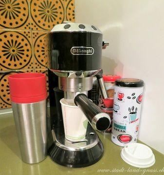 Coffee to go Kaffe zum mitnehmen von zu Hause