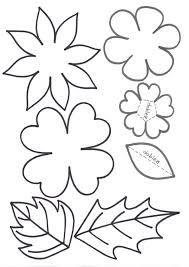 Resultado de imagen para como hacer moldes para rosas de papel
