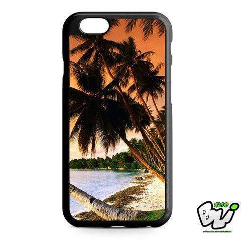 Beach Palm Tree iPhone 6 Case | iPhone 6S Case