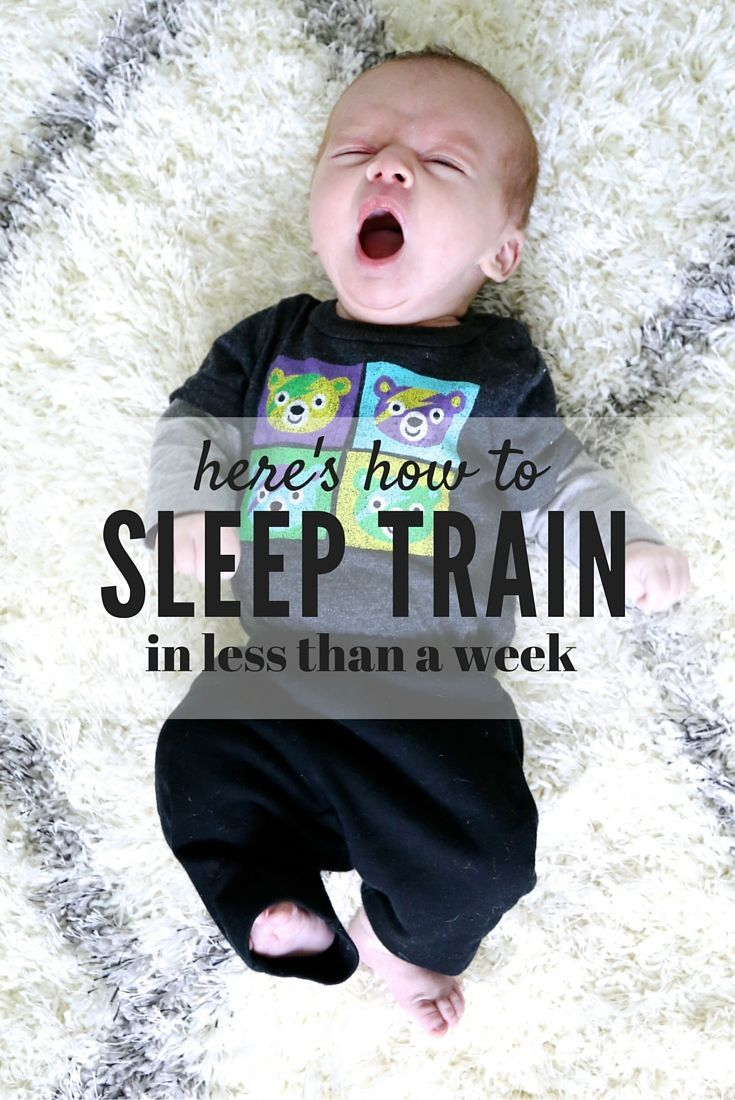 It can be so tough to know how to address sleep issues with your infant. Here are my tips for nap training and working your way to better naps AND night time sleep in less than a week!