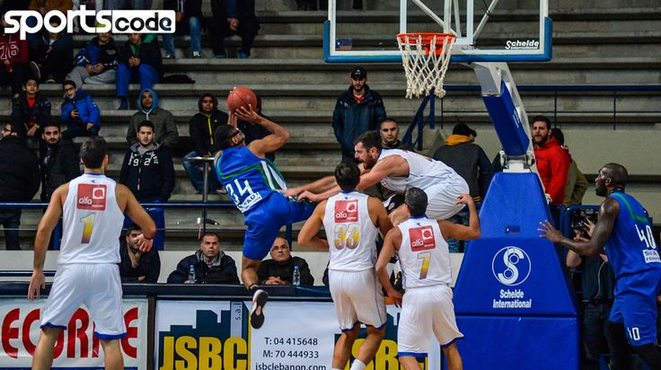 Champville VS Mouttahed – Lebanese Basketball League Pictures #LBL961