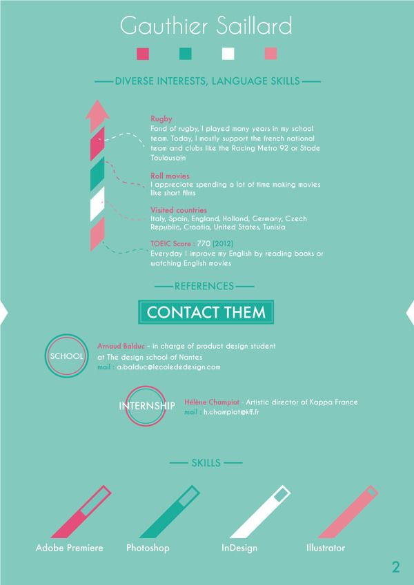 98 best OutStanding Resume References images on Pinterest Resume - references for resume
