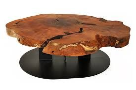 table bases for wood slice table - Google Search