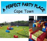 PERFECT PARTY PLACE is an outdoor & indoor Venue. Our indoor area is perfect for those cold, rainy days. It is great for magicians, large enough for a jumping castle, and still provides space for the kids to race. There is a great patio area where we set up all the tables and chairs. Here the parents can relax in comfort while they watch their children entertain themselves.