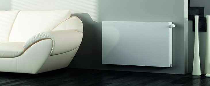 MaxHeat Obla Horizontal Flat Panel Radiators: Complete range available from HeatandPlumb.com MaxHeat Obla Flat Panel Radiator, 400mm High x 600mm Wide, Single Convector ? Guess this might be size for Kitchen Reference: KLPK993 £79.80 inc VAT