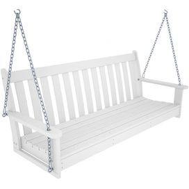 Ashlin Porch Swing in White