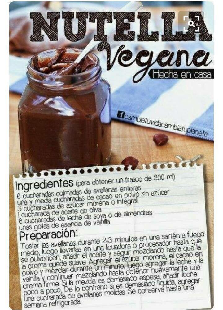 Nutella vegana