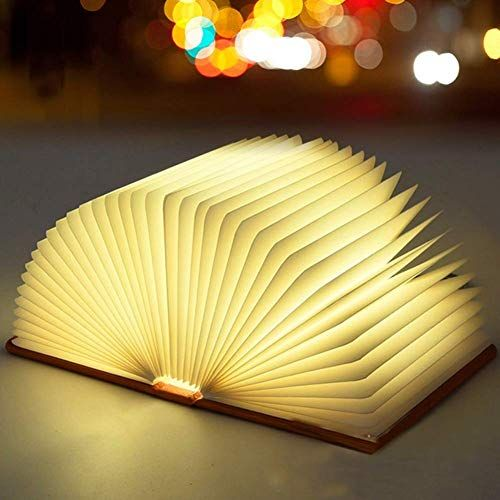 Beautiful Wooden Book Lamp 1 In 2020 Book Lamp Wooden Books Lamp