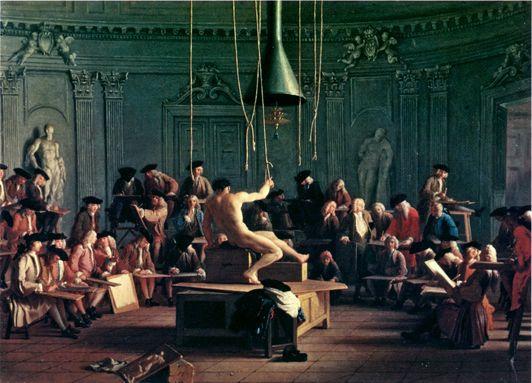 Michel-Ange Houasse - Académie de dessin - 1715
