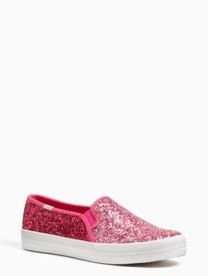 2e48e996c16f5 Kate Spade Keds x double decker sneakers