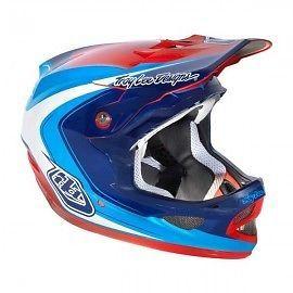 Casco Troy Lee Designs D3 Mirage Blue Tg. M | eBay