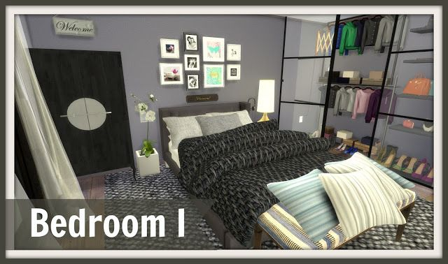 Sims 4 - Bedroom I