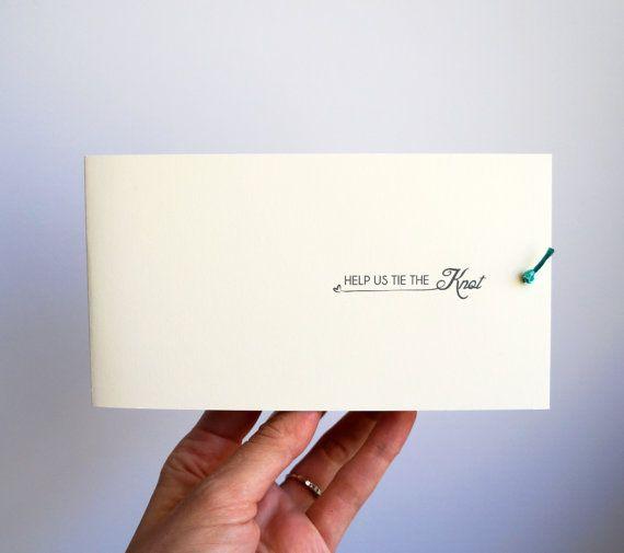 Help Us Tie The Knot LITERALLY Wedding by brighteyedbirdie