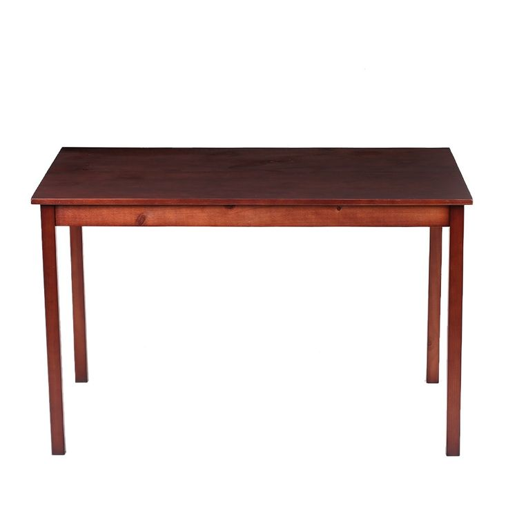 iKayaa Modern 5PCS Wood Dining Set Kitchen Dinette Table with 4 Sales Online brown - Tomtop.com
