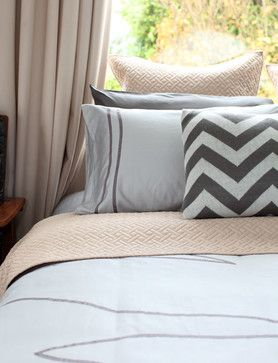 PURE by Ami McKay bedding contemporary bed pillows and pillowcases