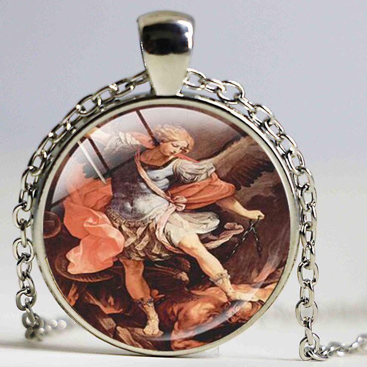 Michaelmas Pendant St.Michael Silver Plated Necklace Isle of Skye Michaelmas Term Gifts Michaelmas Term Jewelry #Affiliate