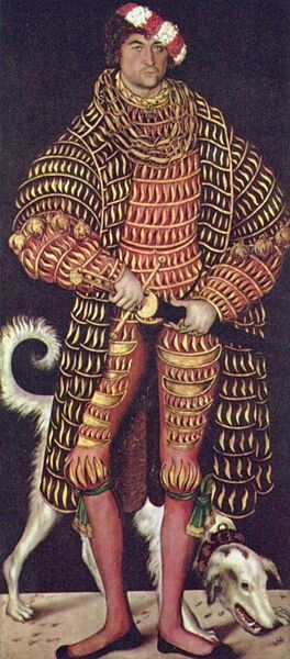 Henry IV (reign 17 April 1539 – 18 August 1541), Duke of Saxony, Margrave of Meissen, Lord of Friesland