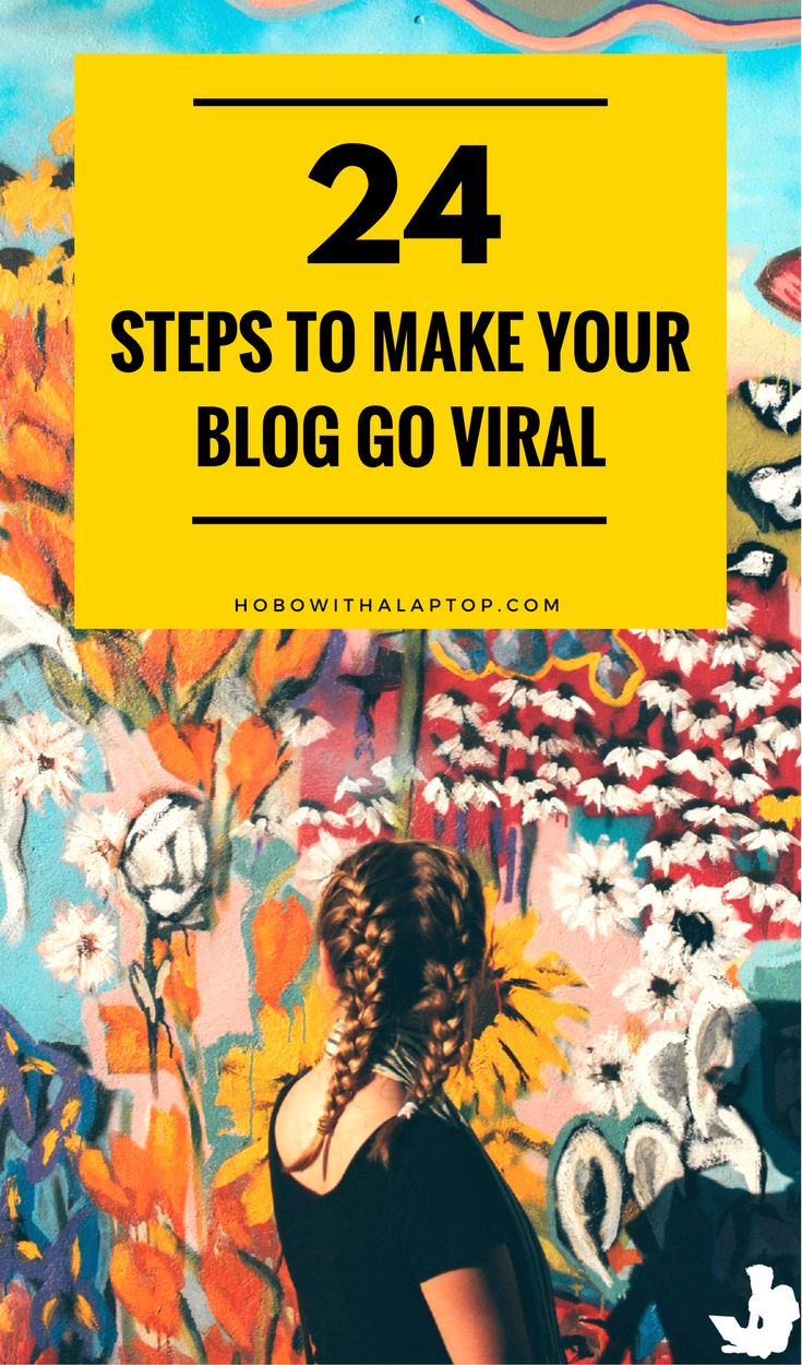 If you want to keep online audiences coming back over time, your internet marketing strategy must be focused on content quality. Here are 24 tips that will show you how to make content go viral. Read more at http://hobowithalaptop.com/viral-travel-blog-tips