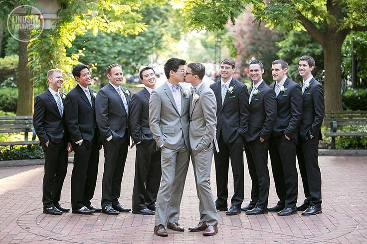 Find and save ideas about Gay men weddings on Pinterest