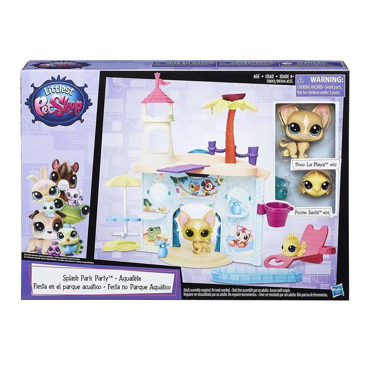 Littlest Pet Shop Splash Park City Figure Set
