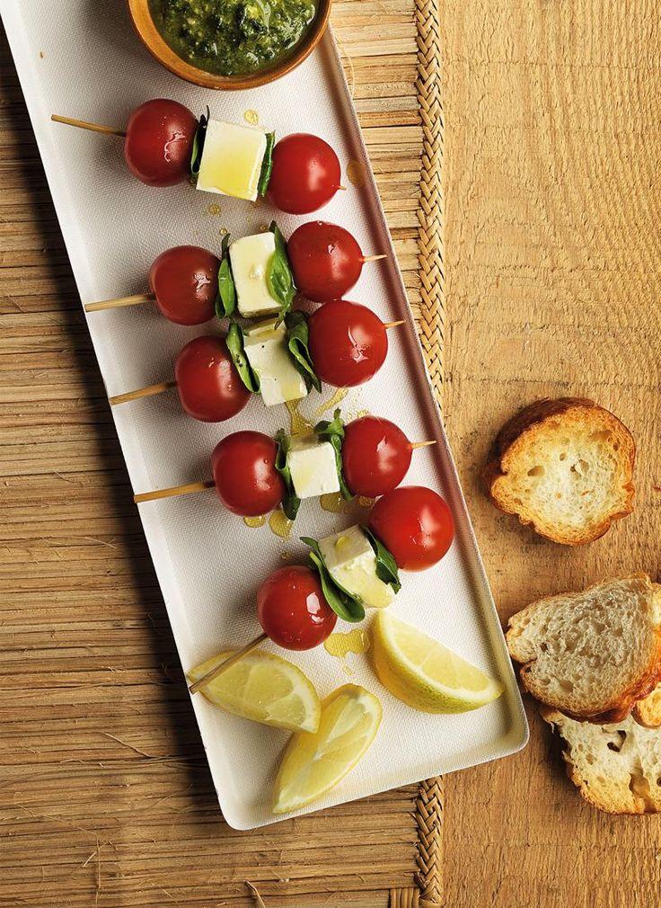 Tomato & Feta Sticks