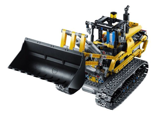 LEGO 8043 motorized excavator's B model
