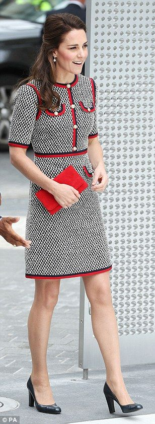 Take to tweed like the Duchess of Cambridge in Gucci #DailyMail