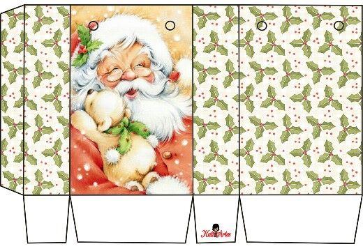 Caja-bolsa Navidad.