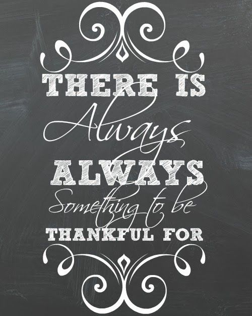 """Get this """"Always Thankful"""" Free Printable at Mrs. Hines' Class"""