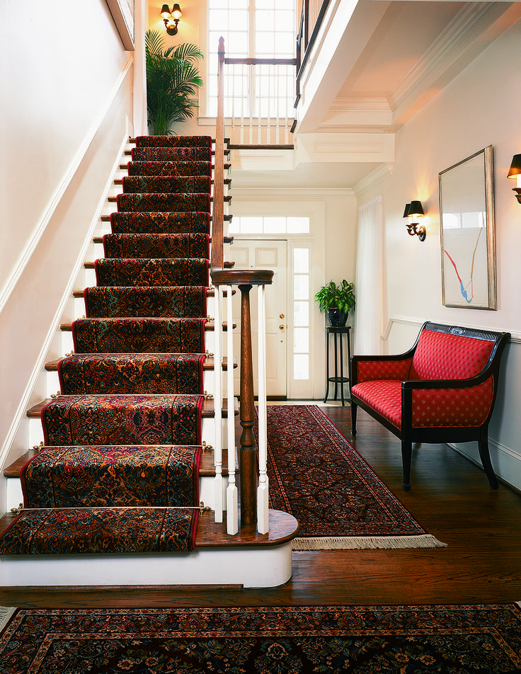 Best Traditional Kirman Stair Runner And Hallway Rug From 400 x 300