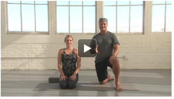 This heat-building, detoxing flow practice from Baron Baptiste weaves strong standing poses, twists, and arm balances to make you feel alive!
