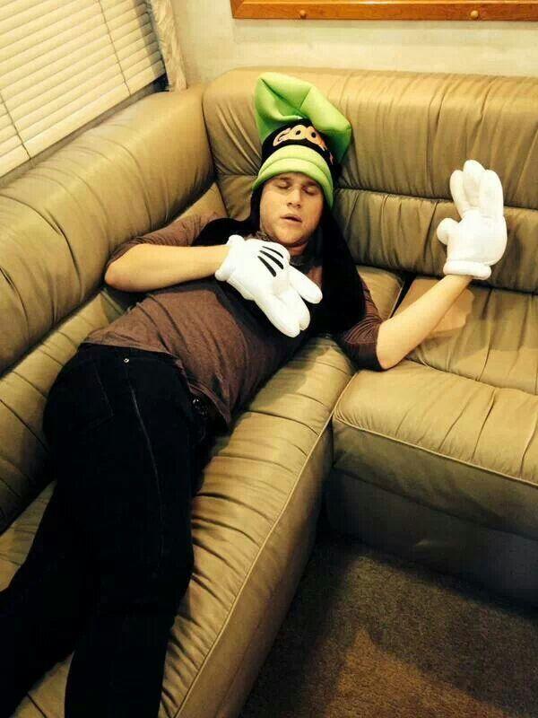 Olly crashing