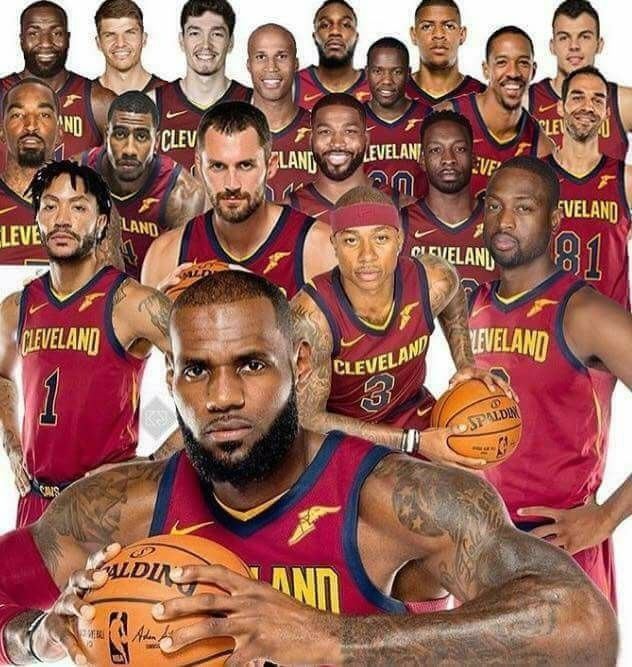 Lebron James The Cleveland Cavaliers Photo Credit