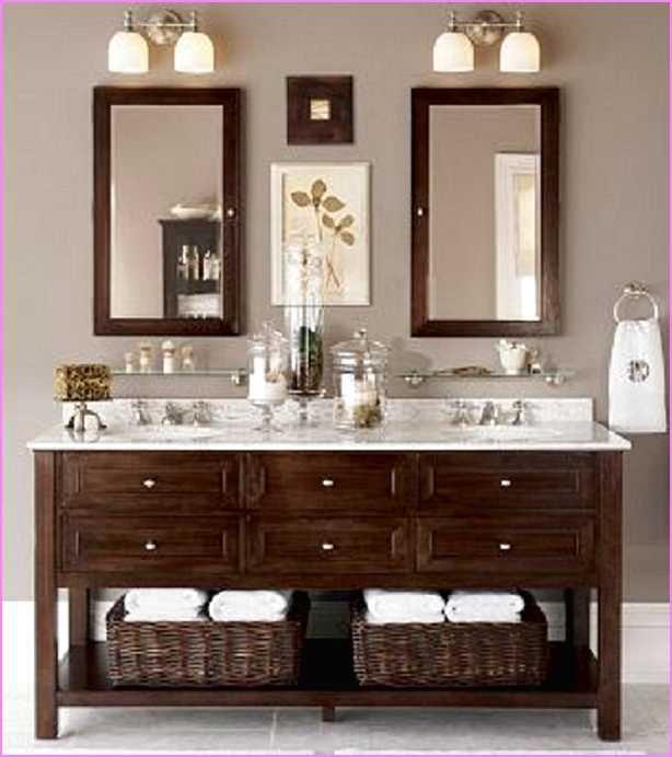 10 Chic Bathroom Vanity Lighting Ideas: Best 25+ Bathroom Double Vanity Ideas On Pinterest