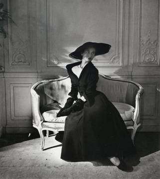 """Dior day dress """"Abandon"""", 1948"""