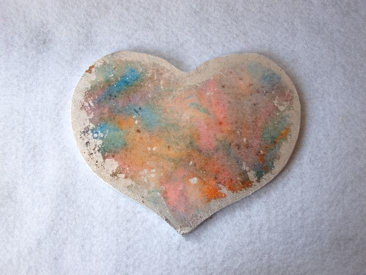 Farba w spray'u Mist Media połączona ze złoceniami daje miłość od pierwszego wejrzenia :)