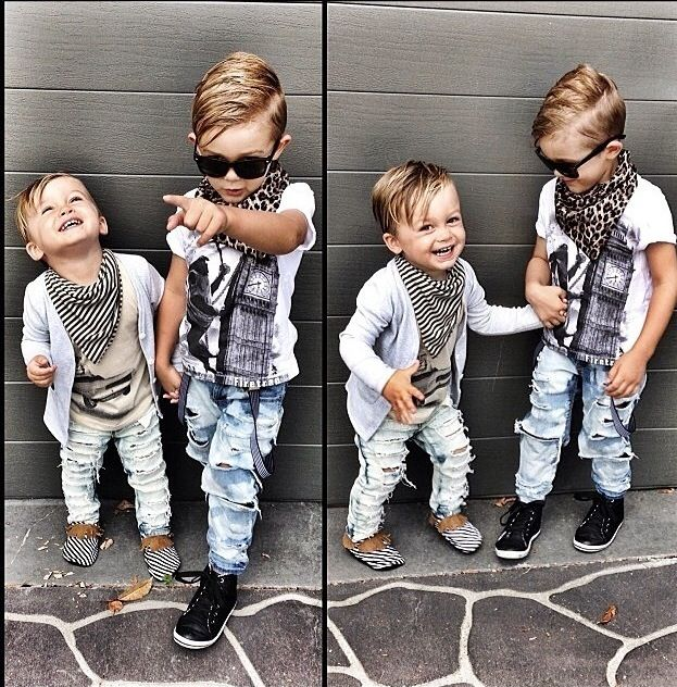 Little boys fashion is fun to mix & match
