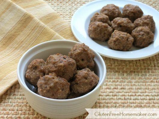 Paleo Sausage Balls - The Gluten-Free Homemaker