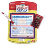 Pretend & Play® Checkbook with Calculator - Learning Resources®