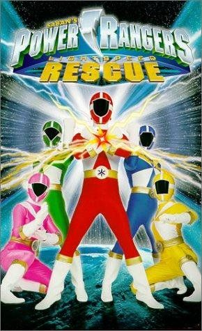 Power Rangers Lightspeed Rescue. my favorite series