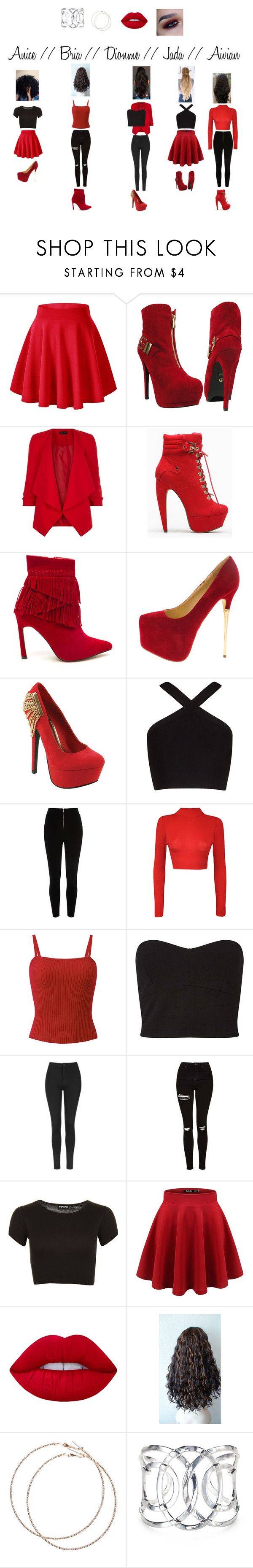 """""""Guardian Angels FIRE"""" by the-guardian-angels on Polyvore featuring New Look, Red Circle, BCBGMAXAZRIA, River Island, WearAll, Miss Selfridge, Topshop, Lime Crime, GURU and Wet Seal"""